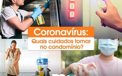 Dicas para se prevenir do coronavírus em condomínios