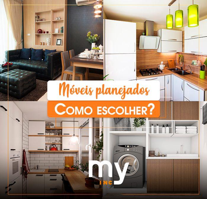Móveis planejados para apartamento pequeno: como escolher?