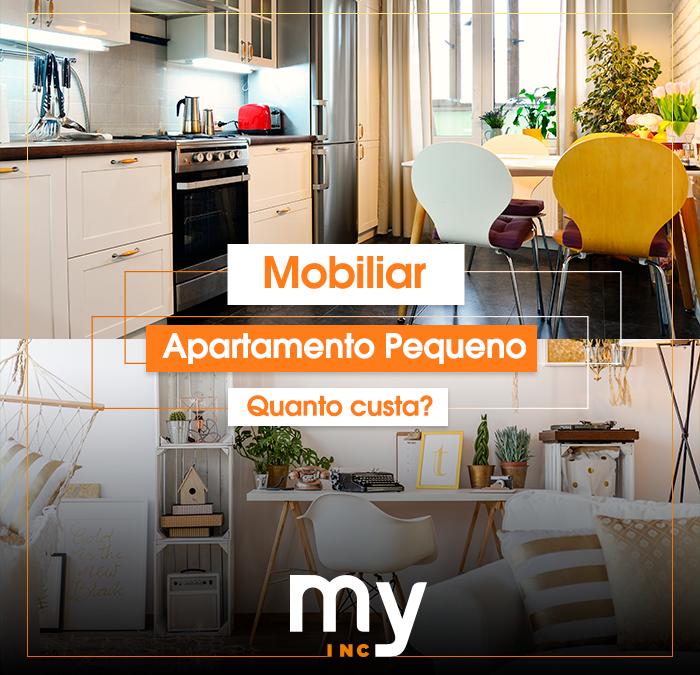 Quanto custa mobiliar um apartamento pequeno?