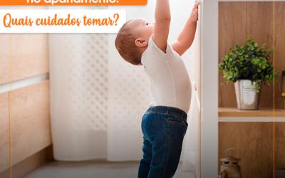 Segurança com crianças no apartamento: quais cuidados tomar?