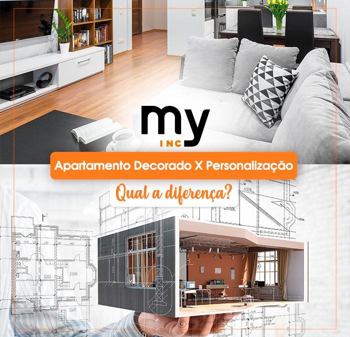 Apartamento decorado X Personalização: qual a diferença?