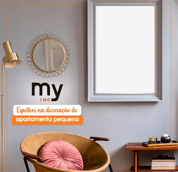 Espelhos na decoração de apartamento pequeno: saiba como usar